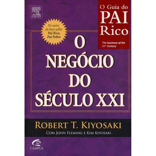 O negócio do Século XXI de Roberto Kyosaki - De  R$27,90 por R$ 22.32