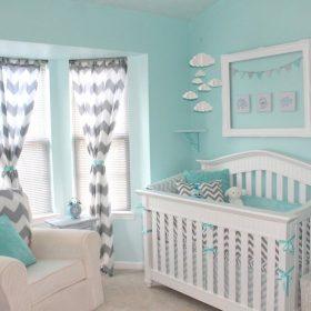 decoração do quarto do bebê