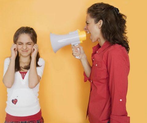 gritar com os filhos pode causar depressão