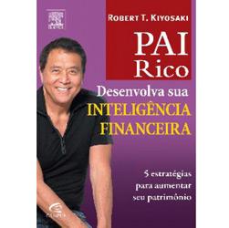 Pai Rico:: Desenvolva a sua inteligência financeira por Robert Kyosaki - De R$ 62,00 por R$ 24,90