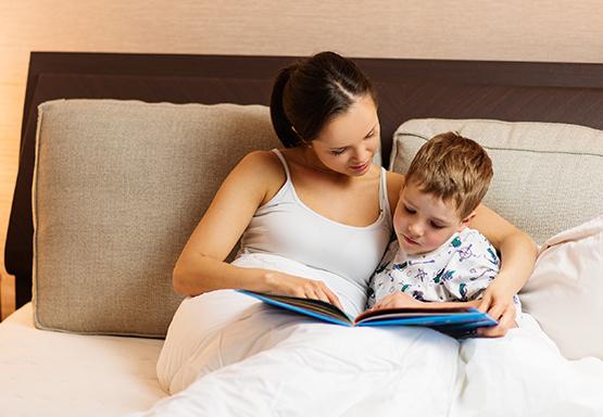leitura para as crianças